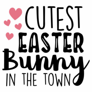 Cutest Easter Bunny in the Town Design