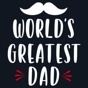 World's Greatest Dad Design