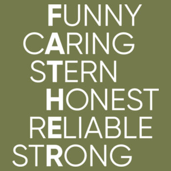 Funny Caring Stern Design