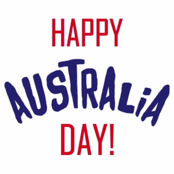 Happy Australia Day Design